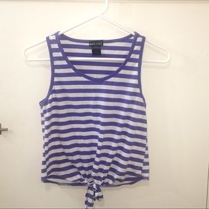 Wet Seal Stripped tank top